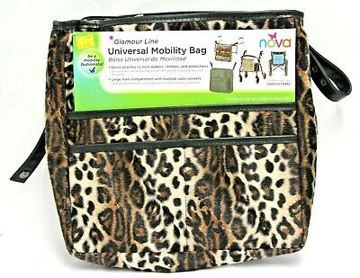 Nova Glamour Line Universal Mobility Bag for Walkers, Rollators & Wheel Chairs