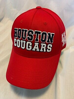 quality design e52b0 521e7 Houston Cougars Ncaa Top Of The World Teamwork Hat Adj Snapback Osfm Nwt