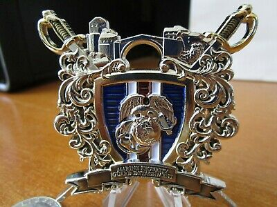 MSG DETACHMENT ABU Dhabi, UAE US Embassy Challenge Coin - $149 95