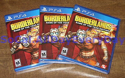 (1) Borderlands: Game of the Year Edition (PlayStation 4, physical) NEW ps4 goty