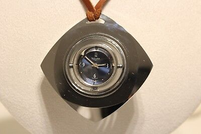 "Vintage Very Rare Collectible Eye Style Ladies Mechanical Watch Pendant ""Sicura"""