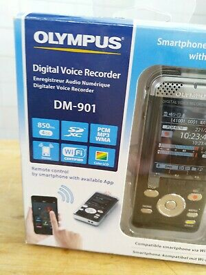 Olympus digital voice recorder DM-901, never used as new TOP wireless MP3 WMA