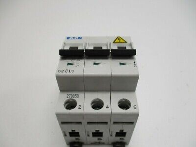 Eaton Faz-C1/3 Circuit Breaker 1A * New No Box *