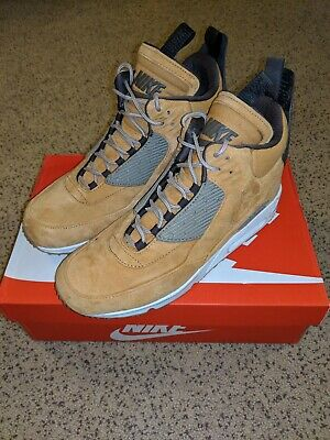 90 Max Air Nike Sneakerboot 14 Size Mens 684714 700 Wheat