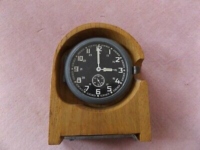 A very nice WWII German Communication Room clock.