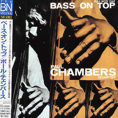 Bass on Top by Paul Chambers (CD, 1996, Blue Note/EMI Japan) NEW / FREE S&H