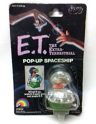 Disney Spielberg ET The Extra Terrestrial Movie vintage 80's toy Ship + figure