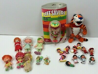 Vintage Lot of 21 Assorted Dolls and Cartoon Characters Starting from the 1970s