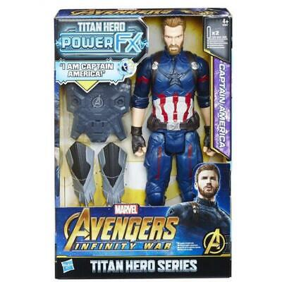 Hasbro B6157 Captain America mit Mottorad Battle Cycle Titan Hero SET Figur