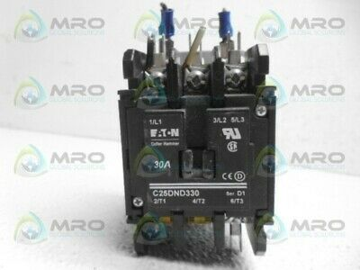 Eaton C25Dnd330 Contactor *Used*