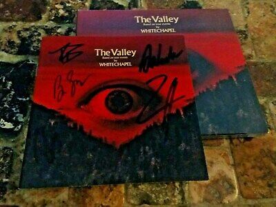 Signed Whitechapel The Valley CD Autographed