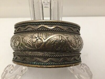 Antique Middle Eastern Islamic Silver Bracelet