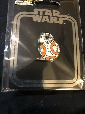 In Hand STAR WARS CELEBRATION 2019 CHICAGO BB-8 PIN Exclusive Bb8