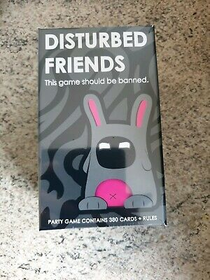 SALE!! DISTURBED FRIENDS - CARD GAME 380 Cards Party Funny eg. cards of humanity