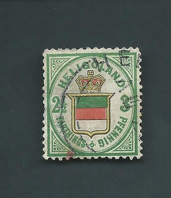 German States Heligoland Scott #20 USED VF Sound Stamp CV $1600 Cat