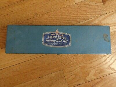 Vintage Imperial Tubing Tool Kit Model 195 Fa With Directions