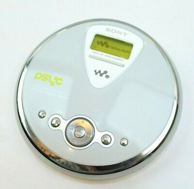 Sony D-NF400 Portable CD Player TV/WEATHER/FM/AM Walkman Tested Working