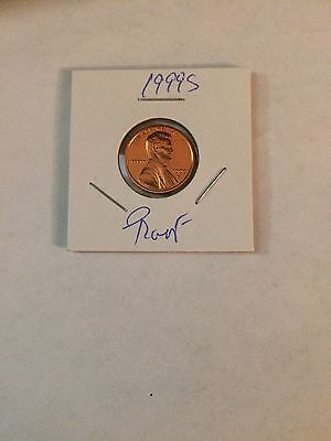 1999 S 1 Cent (Penny) Lincoln Proof