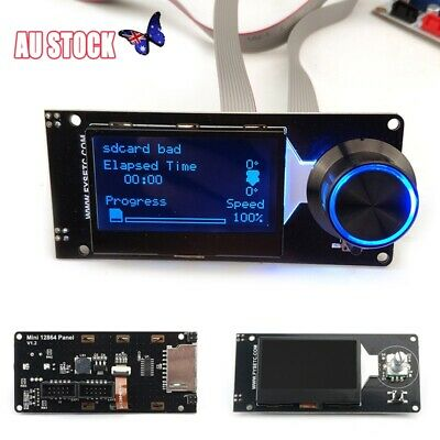 Mini 12864 LCD Screen Display Supports Marlin With SD Card 3D Printer Part New
