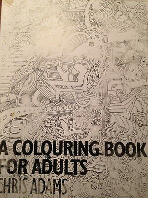 Colouring In Book, Time Up Your Sleve....... This Is For You! 20 Pages