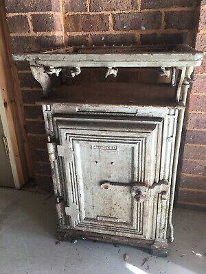 Antique Vintage Gas Stove and Oven Cast Iron, J. Wright & Co.