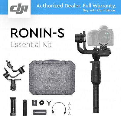 DJI RONIN-S Essentials Kit Three-Axis Motorized Gimbal Stabilizer