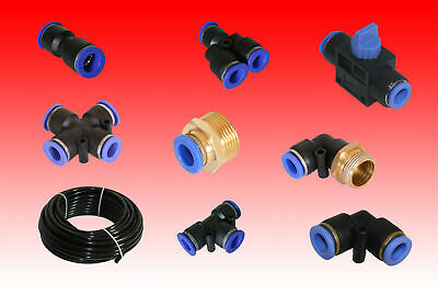 Quick Connector Assorted Compressed Air Pneumatic Plastic Terminal Connector
