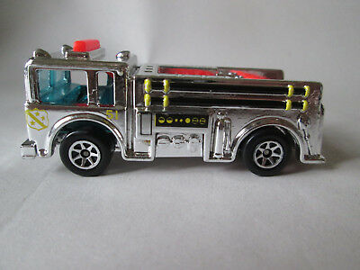 1976 Hot Wheels Chrome Fire-Eater Fire Engine Truck (1:64 Pumper) Mint