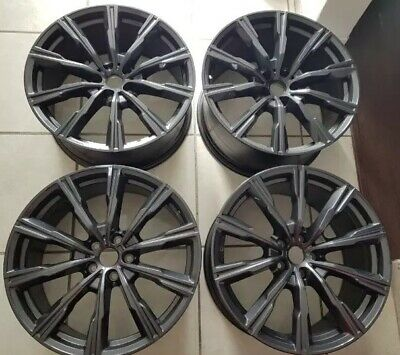 Oem 2019 Bmw X5 X7 740i 750i Staggered 20 Inch Wheels Rims Original Style 740m