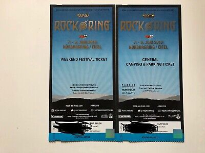 ROCK AM RING 2019 Weekend Festival Ticket + General Camping & Parking Ticket