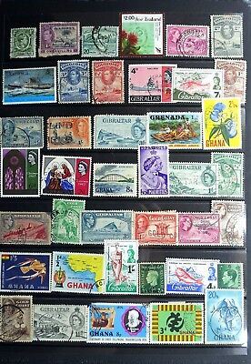 Commonwealth page of stamps stamps - Lot b1307