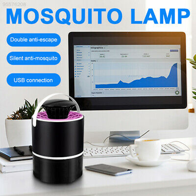 6DD8 UV Light PP Electronic Mosquito Killer Durable Outdoor Mosquito Trap