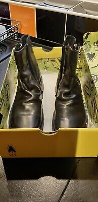 FLY LONDON MONG944FLY Womens Ankle Boots Size 5, Brand New