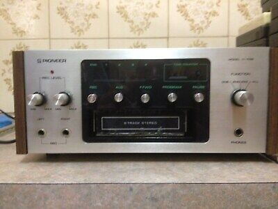 pioneer 8 track tape player untested