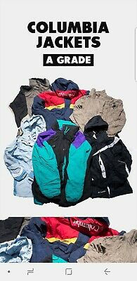 80 X Columbia Jackets A Grade Wholesale Job Lot Bundle