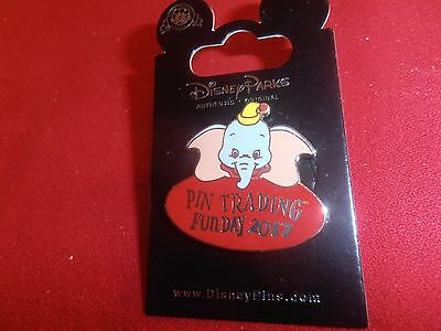 1 Disney Pin Shanghai  DR - 2017 Pin Trading Fun Day Dumbo New  As Seen. lot 8