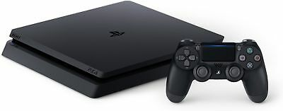 Sony PlayStation 4 Slim 1TB Black Gaming Console~ Brand New in Box