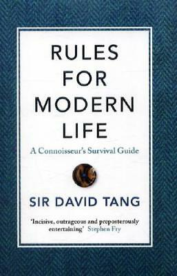 Rules for Modern Life by David Tang (author)