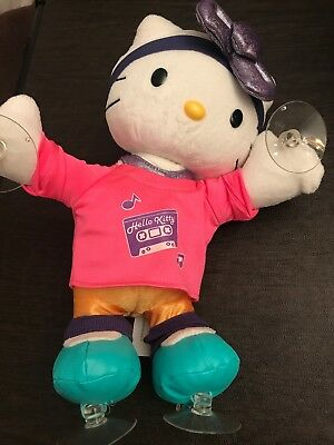 """HELLO KITTY ANIMATED 12/"""" PLUSH DOLL DANCE TIME NEW NIB MUSICAL ACCESSORIES SONGS"""