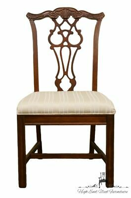 BERNHARDT FURNITURE Chippendale Style Dining Side Chair 238-555/556