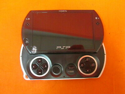 PSP Go PSP-N1001 Piano Black Handheld Video Game Console 2254