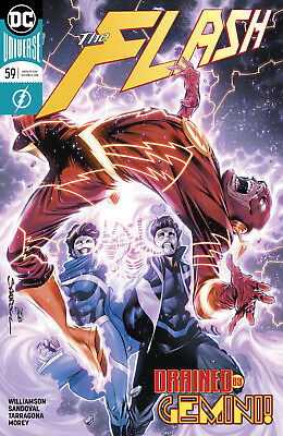 The Flash #59 - Dc Universe - 1St Print - Bagged & Boarded. Free Uk P+P