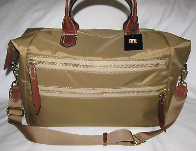 New Frye Ivy Large Overnight Carry On Duffle Travel Weekender Bag Luggage Tote