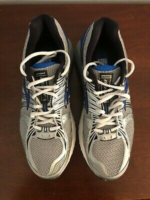 87dc322c03fac Brooks Beast Men s Running Shoes Blue Silver size 12 M excellent condition