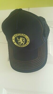 8351d9582f7 Official Licensed Chelsea Baseball Cap rare winners gold Adult Hat Gift  Football