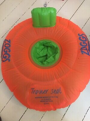 Zoggs swim trainer seat ring 3-12 months