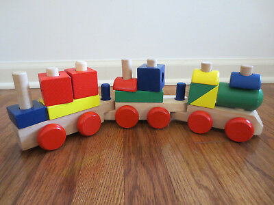 Melissa Doug Color Choo Choo Train Gear Toddler Toy Toys R Us