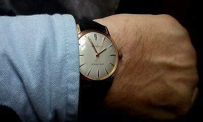 Vintage Seiko Laurel Gold Plated Mens Watch Serviced Oiled Immacu.work.condition