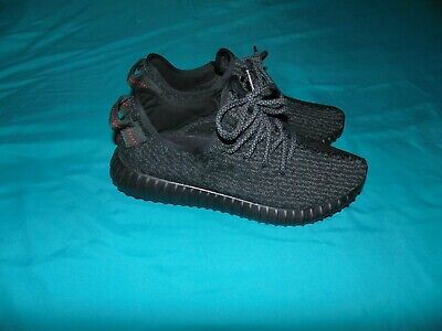 387102b606927 Adidas Yeezy Boost 350 Pirate Black (2016) Great Condition  NO BOX  SIZE