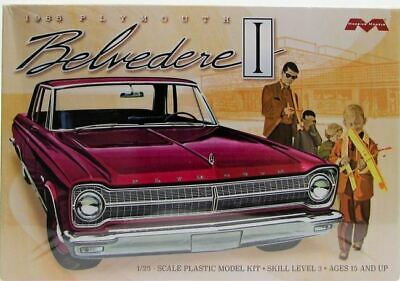 Moebius 1218 1:25 1965 Plymouth Belvedere Plastic Model Kit